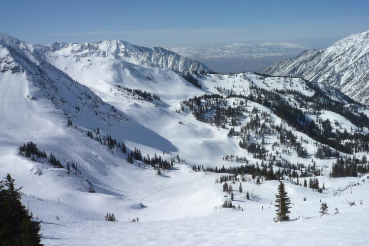 Skiing in Snowbird Utah - The best place to ski