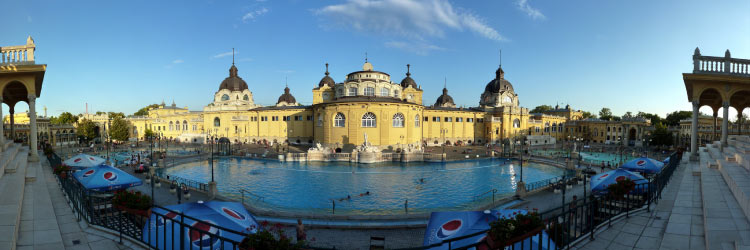 Szechenyi Baths Panoramic