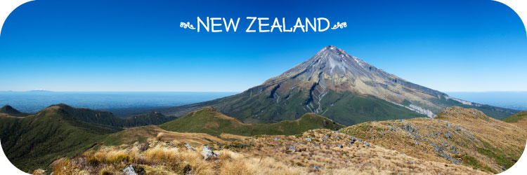 New Zealand Mount Taranaki