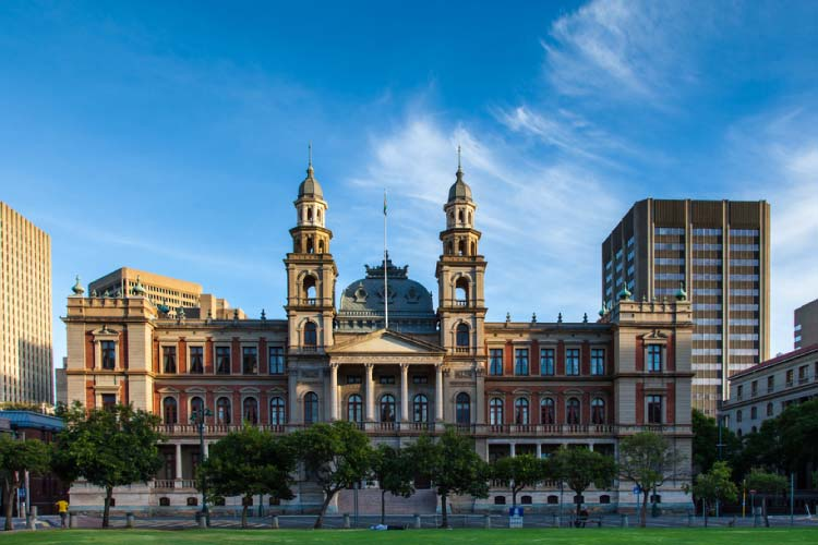 Building in Pretoria - South African Tourism at it's best