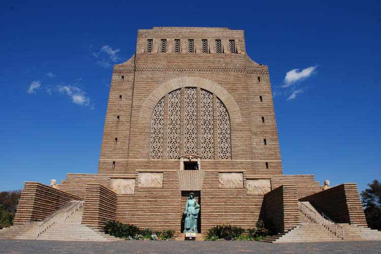 The Voortrekker Monument in Pretoria South Africa