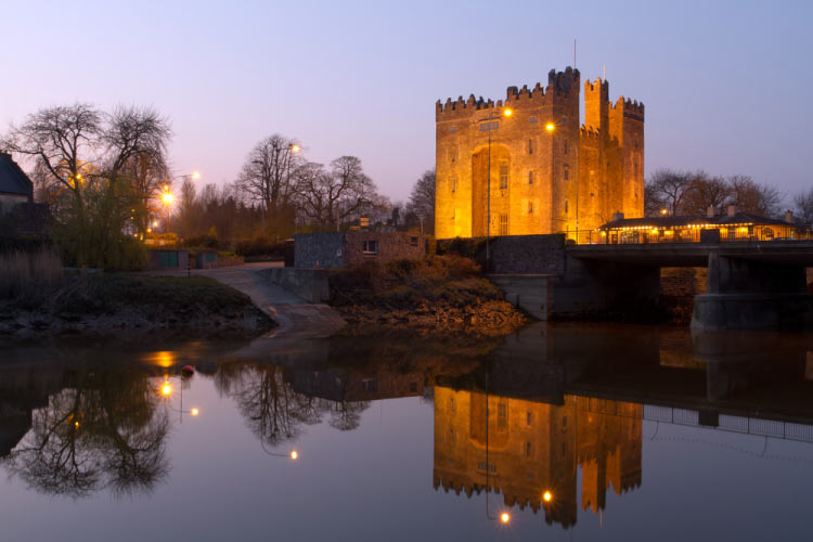 Bunratty Castle in Ireland, one of the most incredible castles around the world