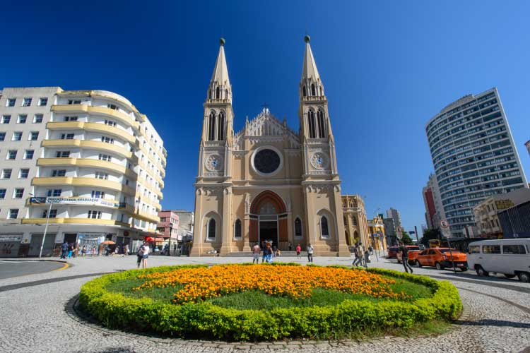 Cathedral in Curitiba