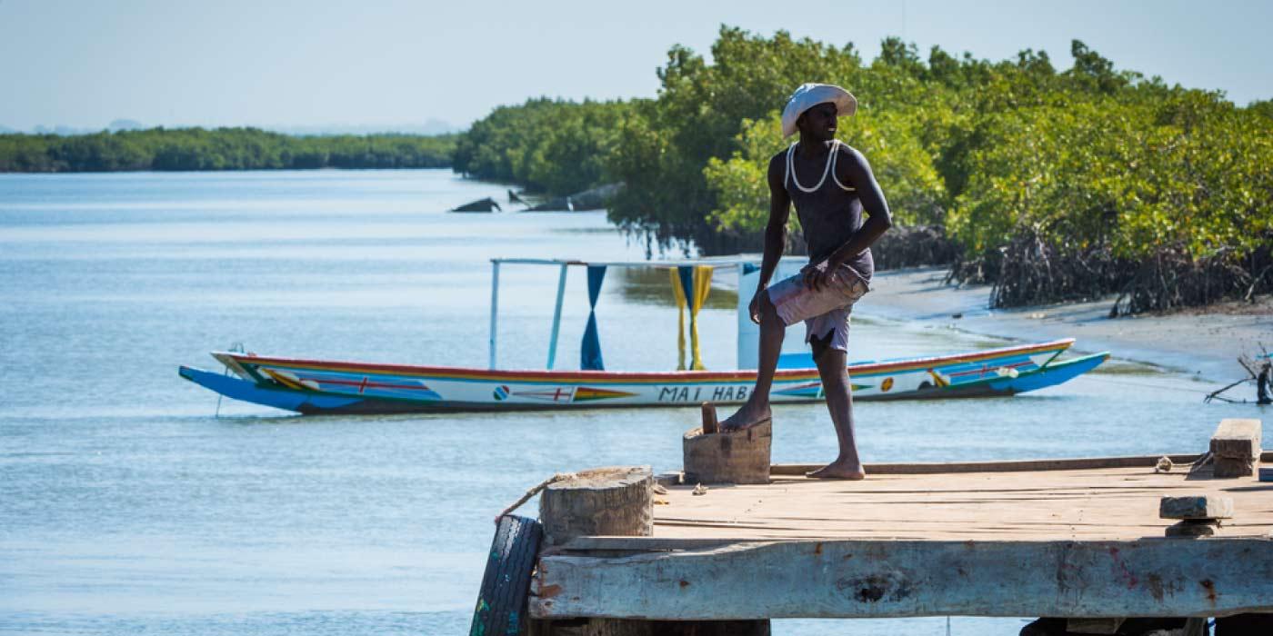Fisherman in Banjul, The Gambia