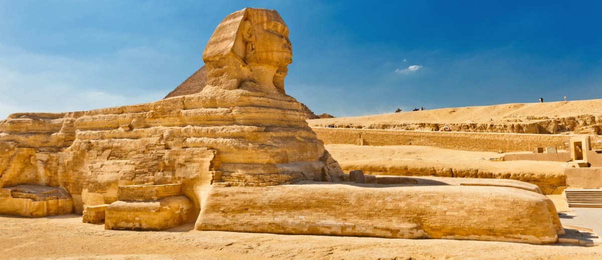 The Sphinx, Cairo, Egypt