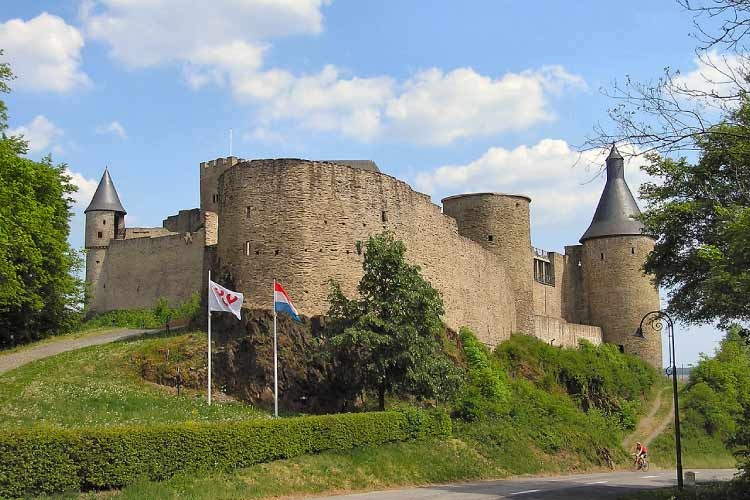 Bourscheid Castle, Luxemborg