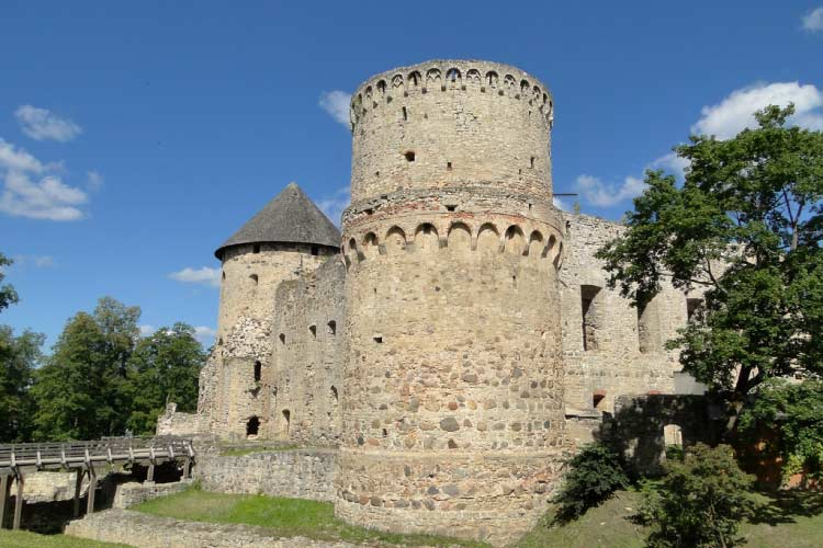 Cēsis Castle in Latvia