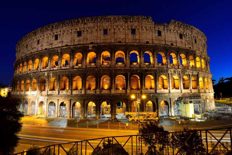 Colosseum by Night - One of the Wonders of the World
