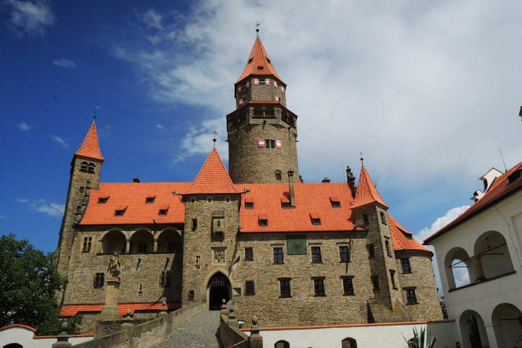 Bouzov Castle in Czech Republic