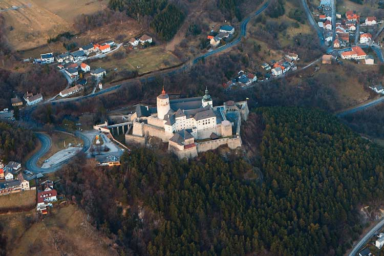 Forchtenstein Castle in Austria