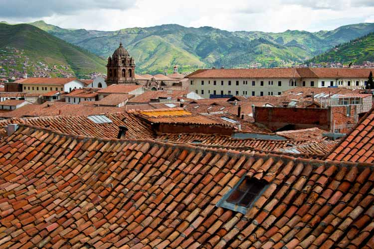 Rooftops of Cuzco