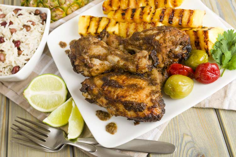Jamaican Jerk Chicken, a staple of Caribbean Culture