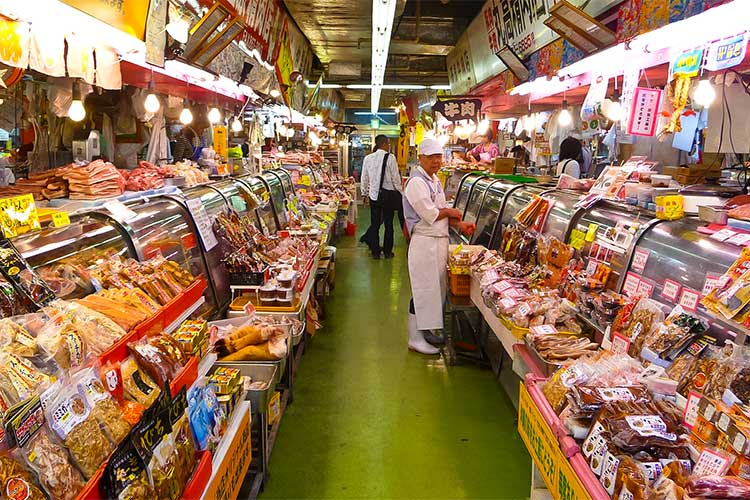 Makishi Market in Okinawa