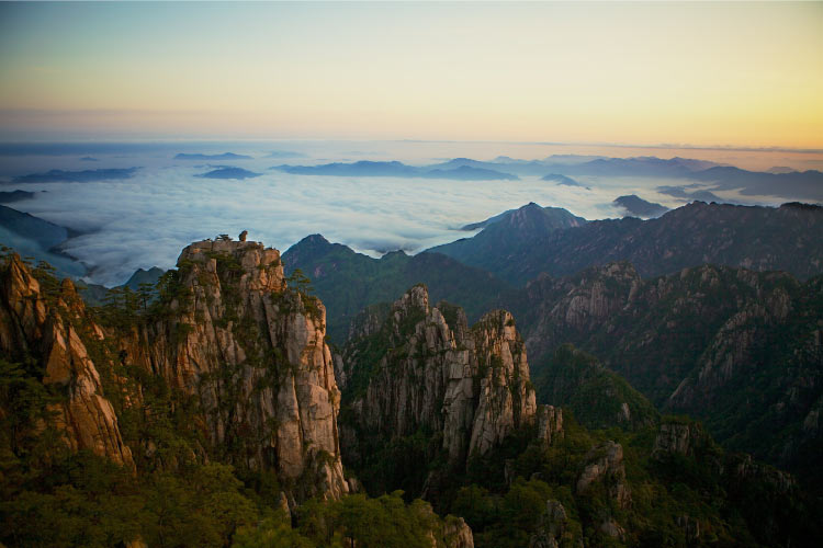 "Yellow Mountains ""The loveliest mountains in China"""