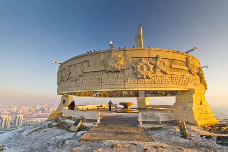 Zaisan memorial in Ulaanbatar