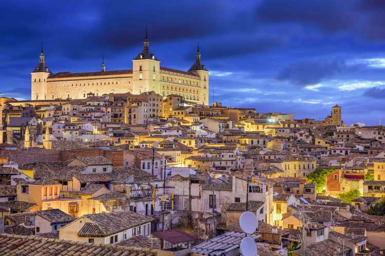 Alcázar of Toledo. One of Spain's World Heritage Sites