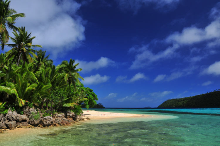 Tongan Paradise in the South Pacific Islands