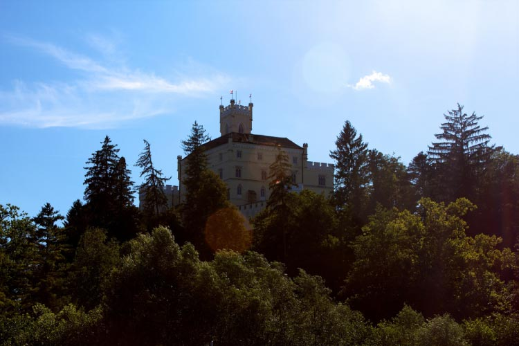 Trakošćan Castle in Croatia