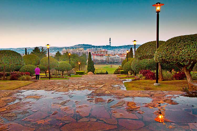 Union Buildings Gardens, Pretoria
