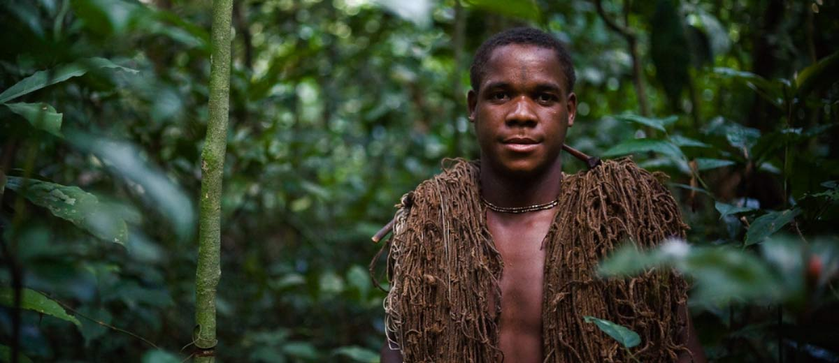 Pygmy Hunter in Central African Republic
