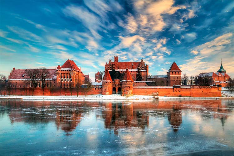 Malbork castle, Poland, Central Europe