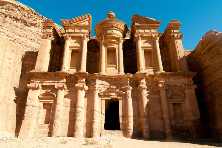 Ad Deir, The Monastery Temple of Petra, Jordan, Middle East