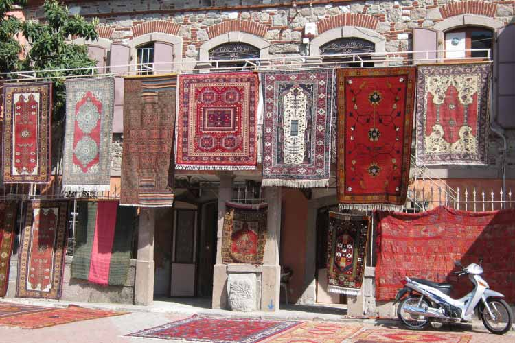 Rug-shop, Bergama, Turkey