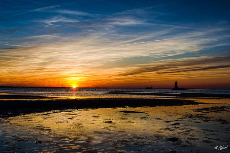 Sunset in Lewes, Delaware, United States