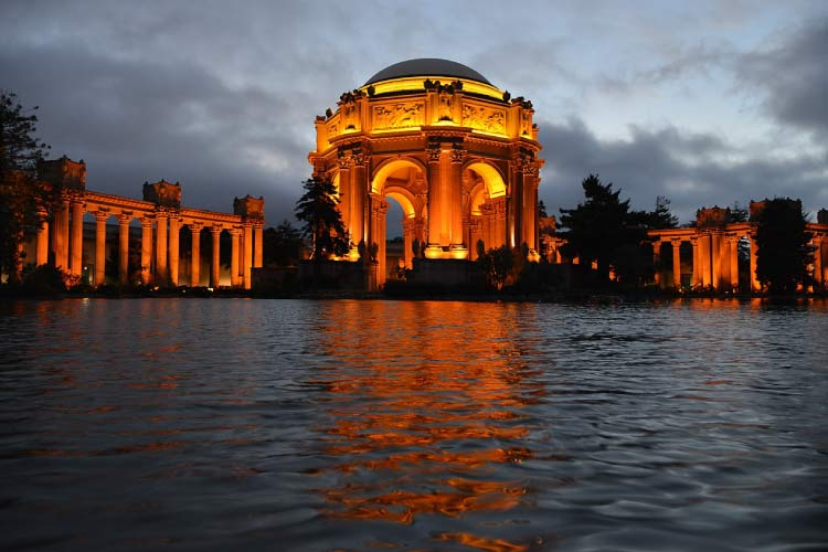 The Palace of Fine Arts, San Fransisco