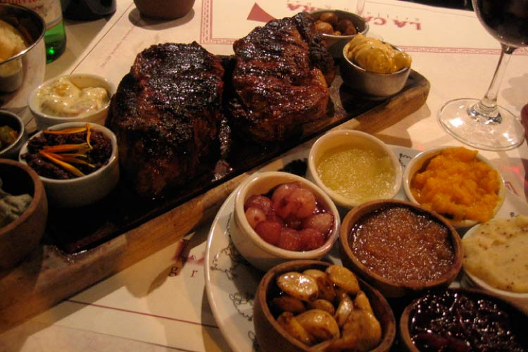 Argentine Cut of Beef, Classic Food of Argentina
