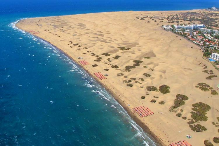 Maspalomas, Grand Canaria, one of the Top Beach Destinations in the world