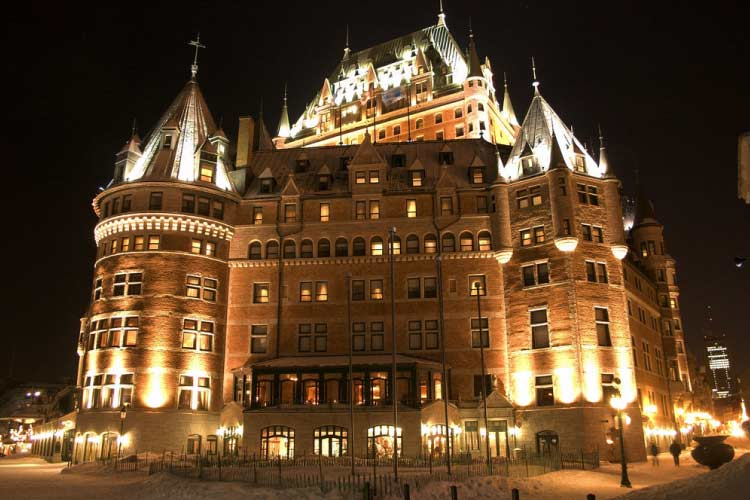 Chateau Frontenac, Canada