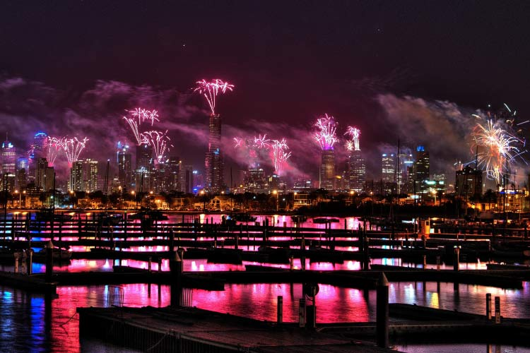 Melbourne New Year, Australia