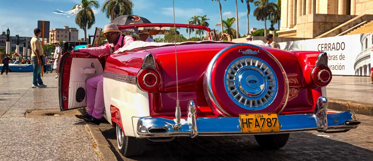 Classic Ford in Havana