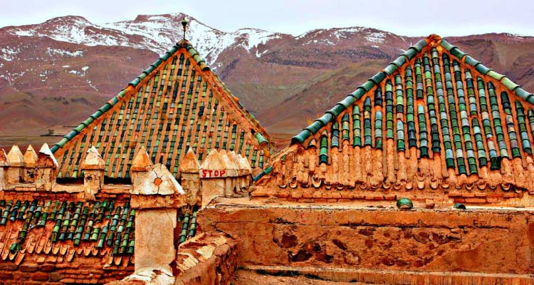Ancient Casbah in the Atlas Mountains