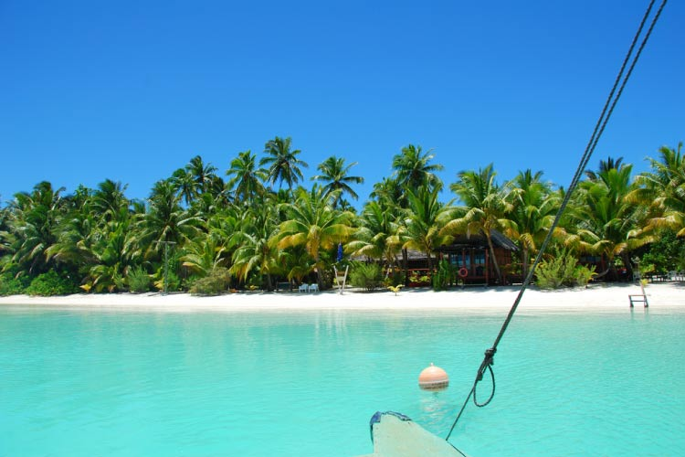 Ariving in the Cook Islands