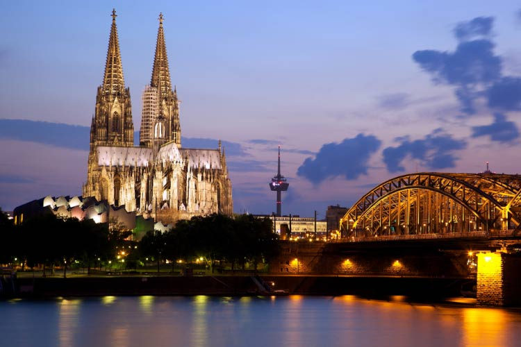 Cologne Cathedral and the Hohenzollern Bridge, Cologne