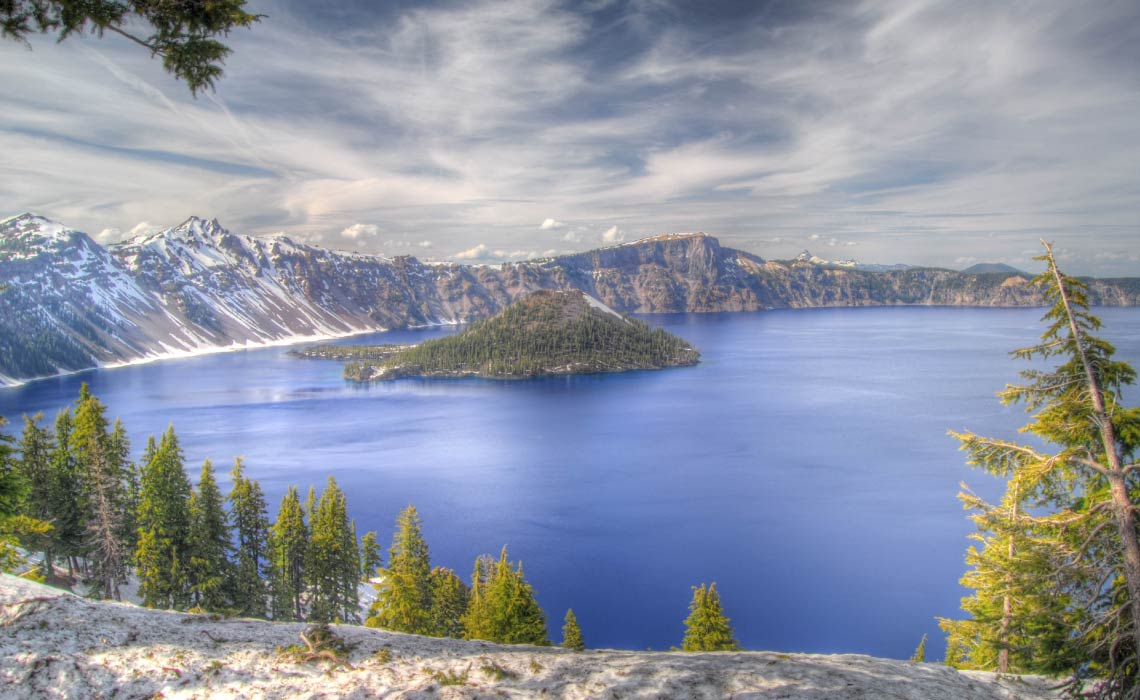 Crater Lake, Oregan, USA