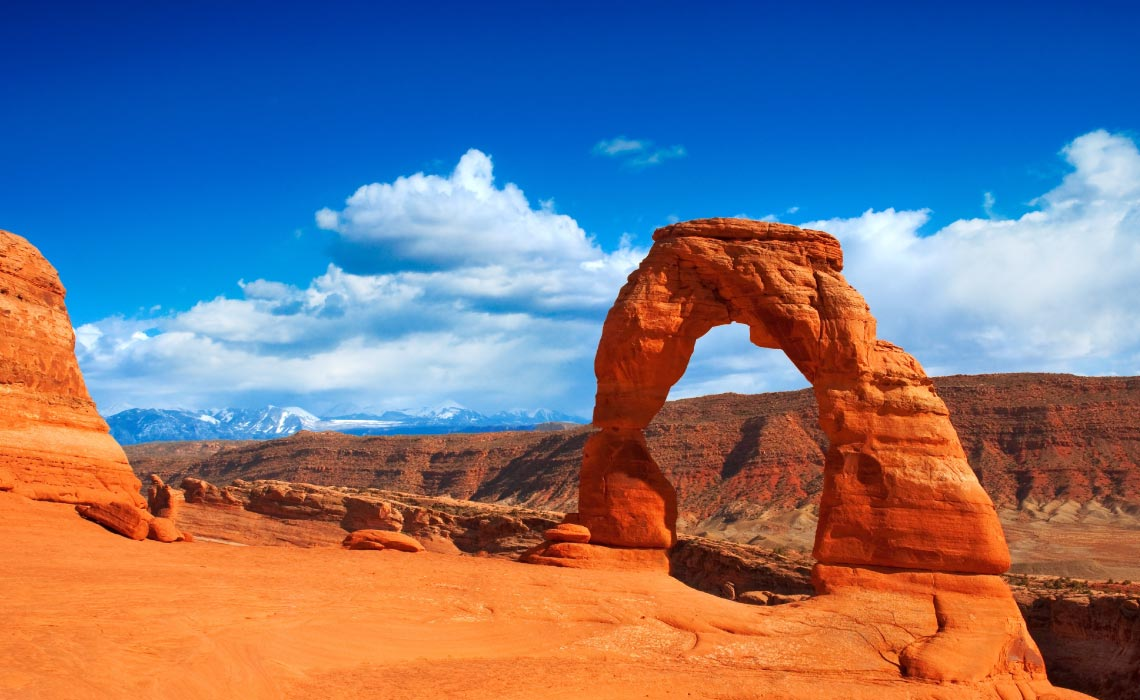 Delicate Arch, one of the most recognizable Natural Arches in the world