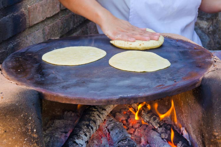 Cooking Tortillas in Mexico