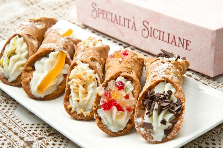 Cannoli in Sicily, one of the Best Places to Eat and Drink