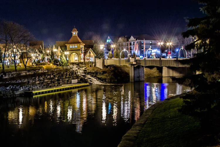 Frankenmuth by Night