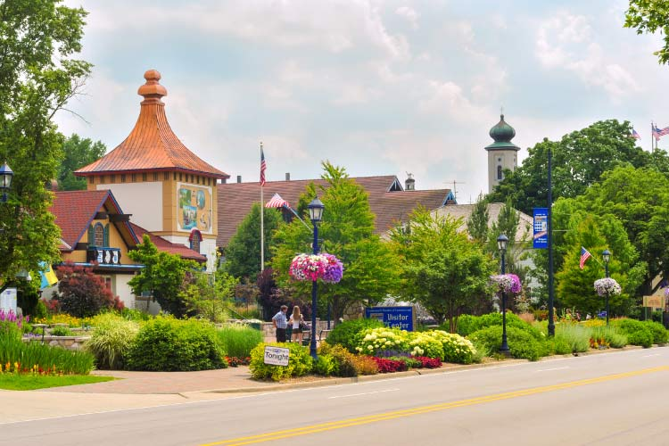 Frankenmuth Streets