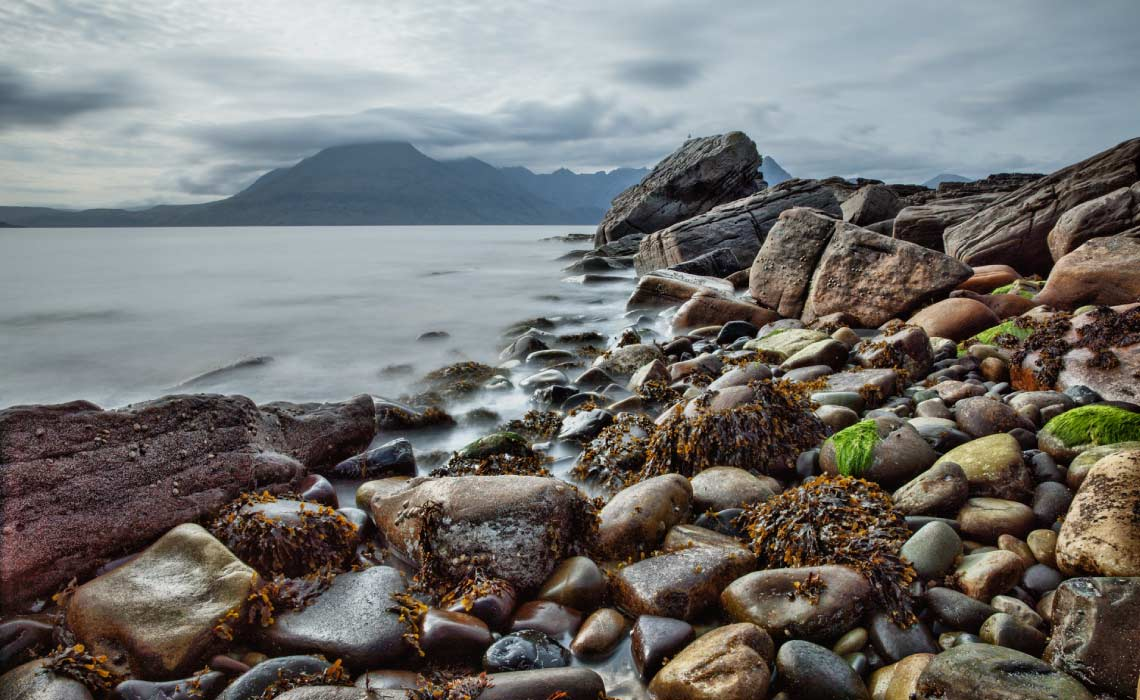 Rocky Beach on the Isle of Skye