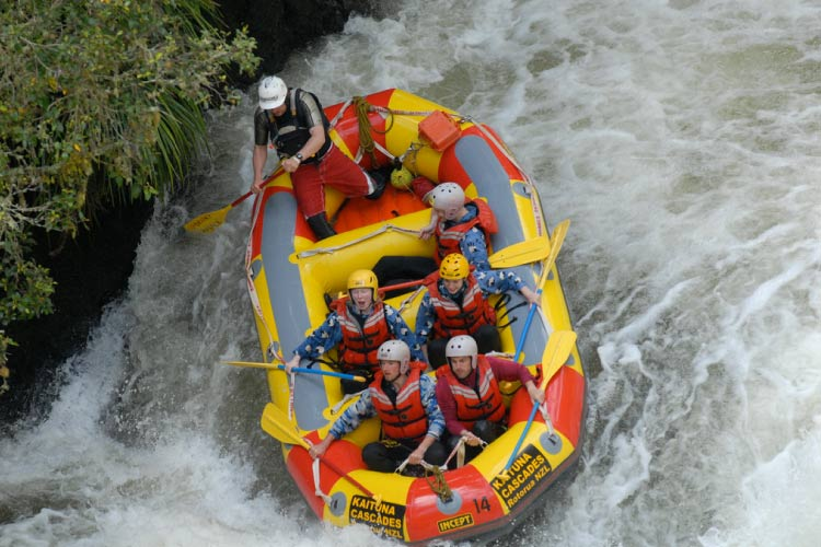White Water Rafting on Kaituna River