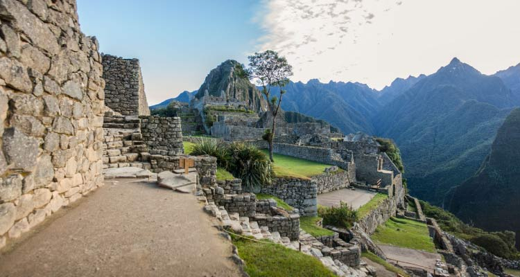 Side View of Machu Pichu