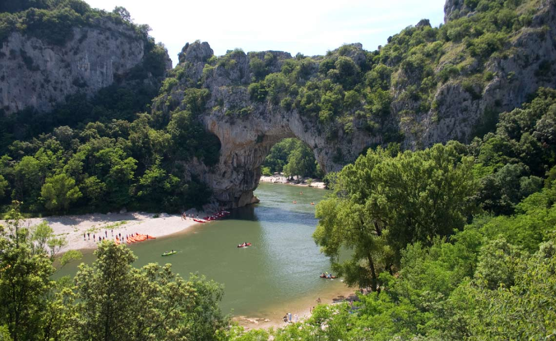 Pont D'Arc, Gorges de l'Ardeche, France
