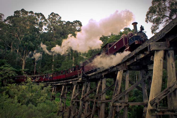 Puffing Billy Railway, Victoria