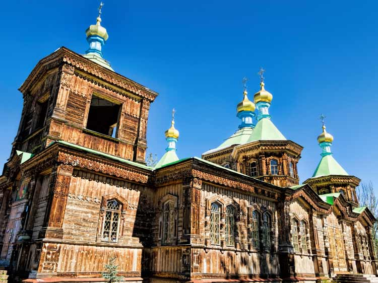 Russian Orthodox Holy Trinity Cathedral, Kyrgyzstan