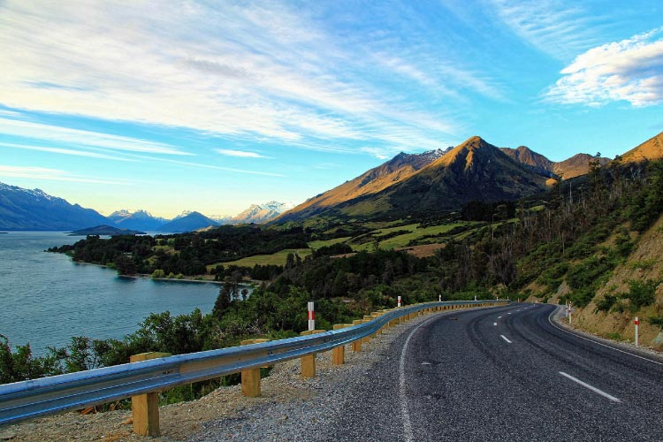 Scenic landscape of Lake Wakatipu in New Zealand Easily one of the Best Places to Golf in the World
